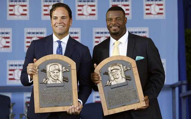 Ken Griffey Jr. & Mike Piazza: Your 2016 HOF Inductees