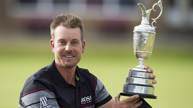 Henrik Stenson wins first major title in historic fashion
